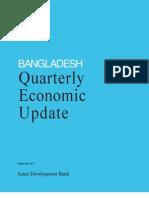 Bangladesh Quarterly Economic Update - September 2011