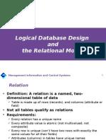 4 Relational Model