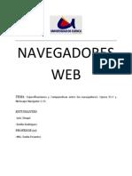 Navegadores Web (Opera vs Netscape)