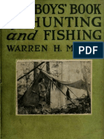 Boys Book of Hunting and Fishing