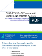 Child Psychology Course Online
