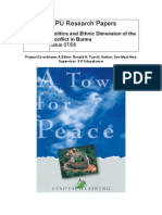 Politics and Ethnic Dimension of the Conflict in Burma.pdf