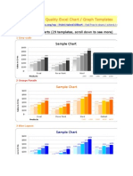 _73 Free Designer Quality Excel Chart Templates - 1