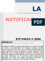 La Notificacion - Carmen