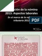 AspectoslaboralesPlaneacion_nomina_feb2013