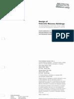 CMAA - Design of Concrete Masonry Buildings (Incl Amd 1 & 2) 2000 - Chp 00 Contents