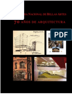 Anba 70a de Arquitectur Obra Completa2011