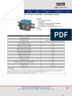 Attenuatorsstep Type N Female DC to 18 GHz, 0 to 69 dB in 1 and 10dB Increment