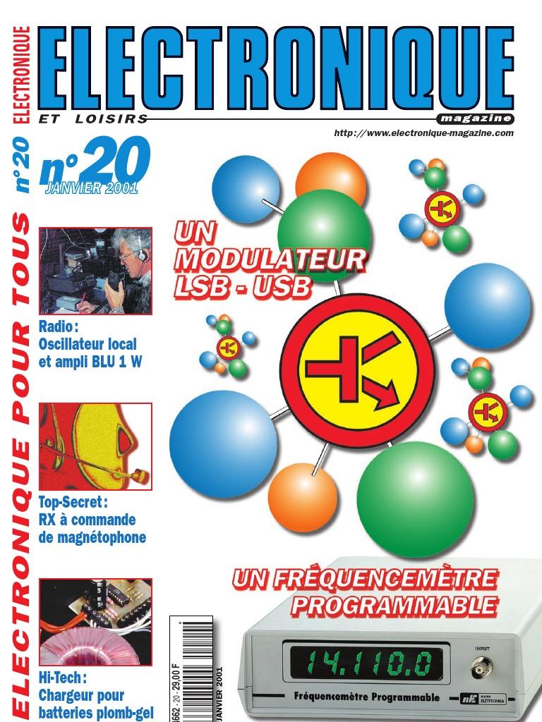 Revista Electronique Et Loisirs 020pdf Circuits Gt Uc3906 Battery Charger Controller Circuit Diagram Design