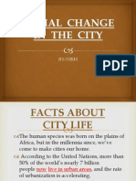 Social Change in the City