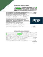 DECLARACIÓN JURADA DE BIENES DE VANESSA