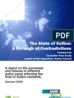 State of Sutton - A Borough of Contradictions