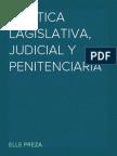 politica legislativa, judicial y penitenciaria