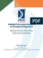 Befektetési politika 2013.07.03