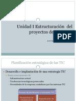 Unidad I Estructuración del proyecto de TI