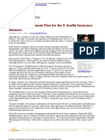 E-Health Insurance Business - Wharton