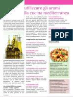 gli aromi nella cucina mediterranea