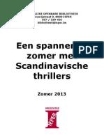 Een spannende zomer met Scandinavische thrillers