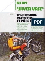 Bps Silver Vase 125 Motorevue 2279 Juillet 1976