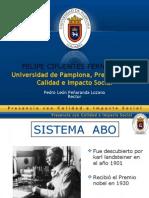 Felipe Cifuentes - Sistema Abo, Rh