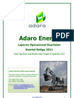 ADARO Report Adaro Energy 2011