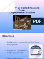 RETScreen Combined Heat and Power Cogeneration (Santosh)