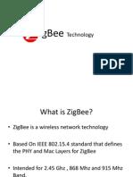 ZigBee Technology Ppt