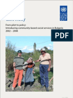 Case Study - From pilot to policy