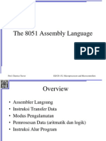 The 8051 Assembly Language1