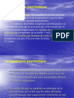 Sindromul Psihotic in Franceza