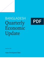Bangladesh Quarterly Economic Update - September 2008