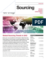2012 Global Sourcing Trends