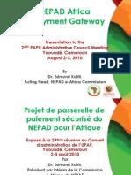 NEPAD African - Payment Gateway v1 - Final