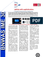 BNWAS IME 300 Product Brochure