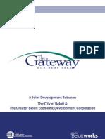 The Gateway Business Park- A joint Development Between The City of Beloit & THe Greater Beloit Economic Development Corporation.