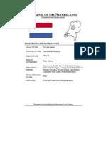 constitutia olandei