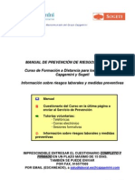 MANUAL DE PRL - Curso a Distancia e Información - v14-2011