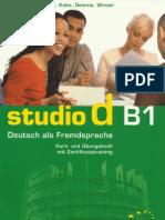 Studio d B1 Kurs- Und Uebungsbuch