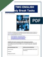 Unit 2 Term 2 Study Break Tasks