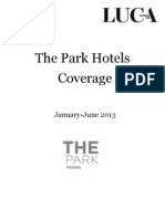 The Park Hotels Coverage, January - June 2013