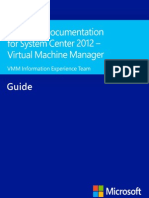 Technical Documentation for System Center 2012 - Virtual Machine Manager.pdf