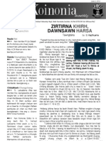 BMCF - Koinonia Vol 8 Issue 2 (2013)
