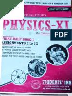 Physics 1 Aptitude(Entry) Test Notes Students Inn -1st Year. PDF.pdf