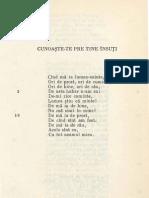Cunoaste-te Pe Tine Insuti-poezie Ion Creanga