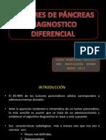 TUMORES PÁNCREAS dx