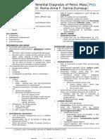 Batch Notes Gyne Ddx of Pelvic Masses