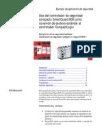 SmartGuard 600 como conexión de esclavo estándar al controlador CompactLogix