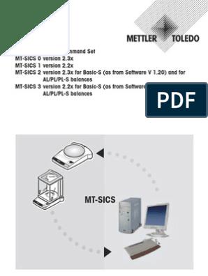 Comandos Sics | Ascii | Computer Data