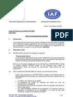 5.5.3 Auditoría de la eficacia de la auditoria interna