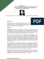 Biografias de Paulo Freire e Antônio Cândido